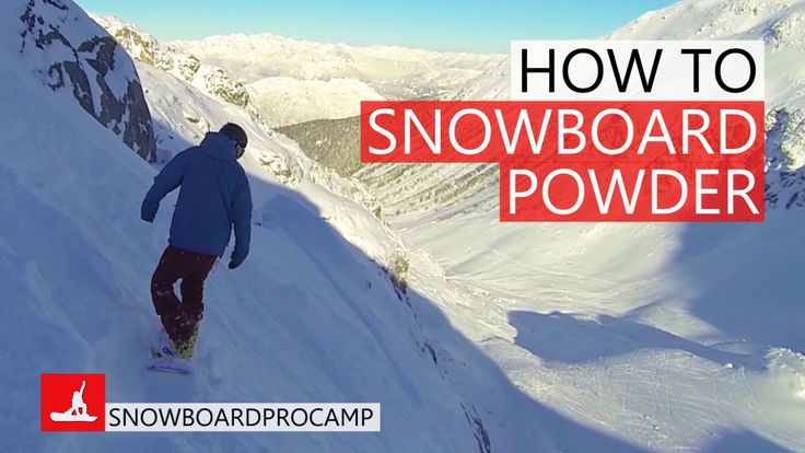 Whistler got 35 cm of powder and I wanted to make a snowboard video to give you guys some tips on how to riding powder on steep terrain. Big mountain riding ...