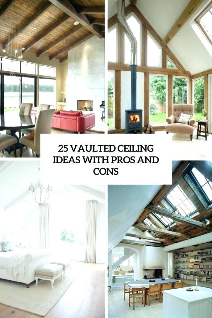 Vaulted Ceiling Ideas Vaulted Ceiling Ideas Vaulted Ceiling Designs Ceiling Interior Ceiling Design Large Wall Decor Living Room Living Room And Kitchen Design
