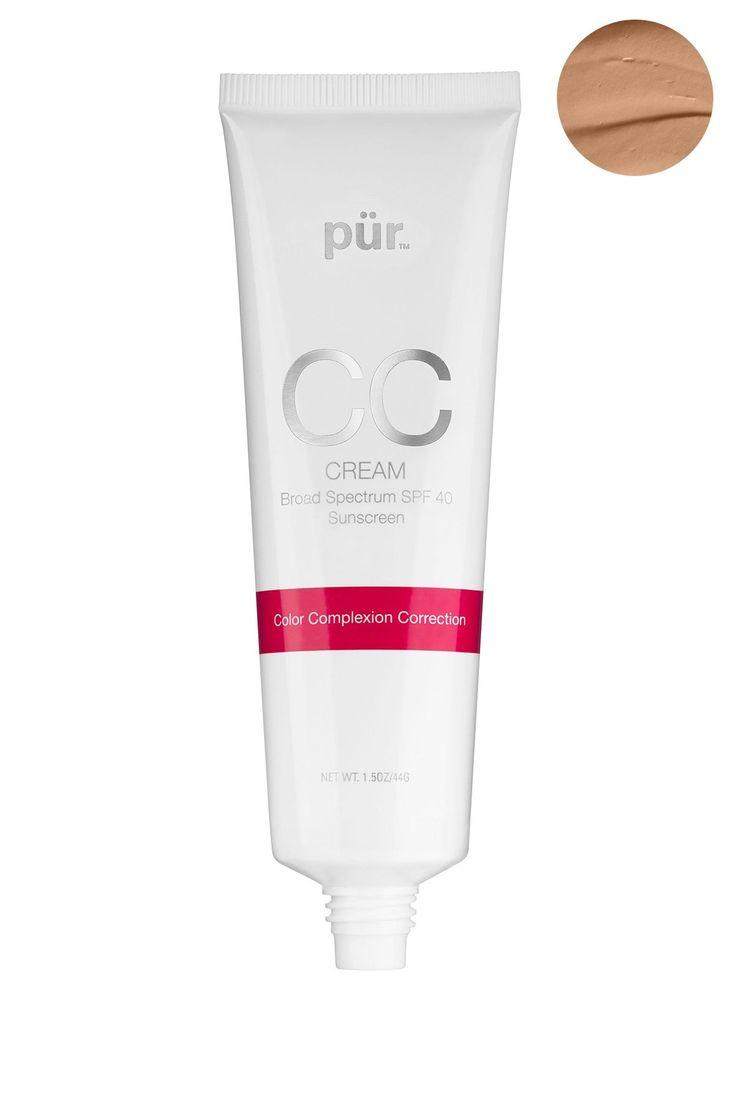 PUR Cosmetics   CC Cream Broad Spectrum SPF40 Foundation - Tan   HauteLook