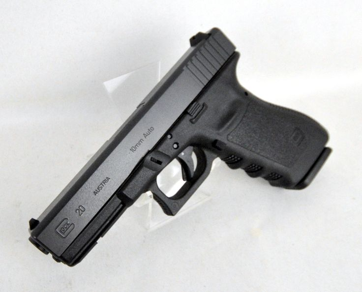 The Glock 20, in 10mm