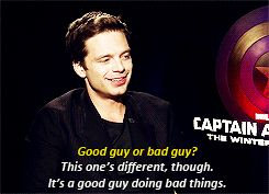 A good guy doing bad things..not a villain