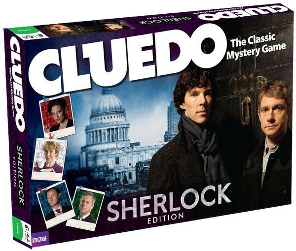 Cluedo Sherlock Edition - I NEED THIS IN MY LIFE!!!