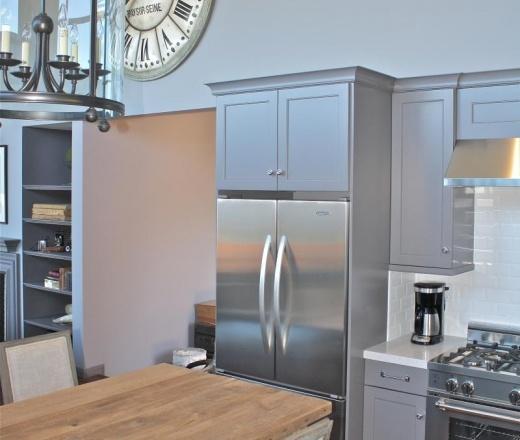 Kitchen Cabinets Refrigerator Surround: 17 Best Images About Dreamy Kitchens On Pinterest