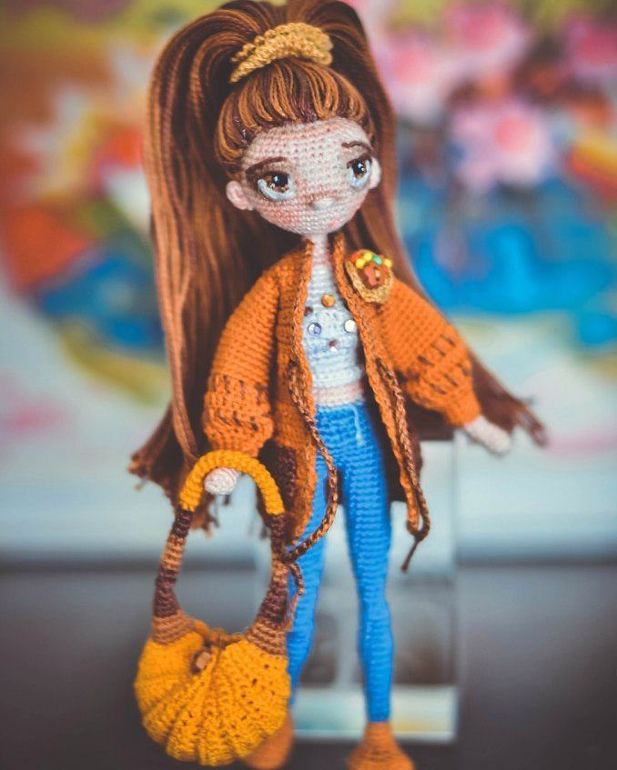 #amigurumidoll #amigurumi #weamiguru #hekle #handmade #handmade_bestwork #mycreative_world #вязанаякукла #вязанаяигрушка #вязание #ручнаяработа #рукоделие by shadrina.ira