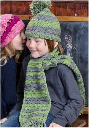 Free Knitting Pattern For Hat Scarf Combo : 17 Best images about Crochet beanie and scarf combo on Pinterest Free patte...