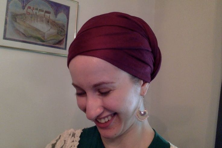 """Yael's """"Regal Wrap Turban with a Twist!"""" ~ Wrapunzel Tichel Tutorial"""