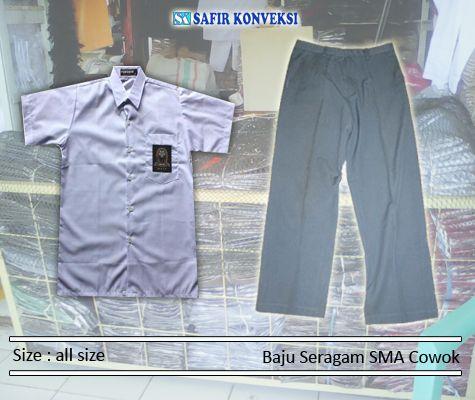 Baju Seragam Sekolah - Kamimelayani pembuatan baju seragam sekolah untuk kebutuhan sekolah dengan berbagai macam jenis bahan dan design. Kami melayani pem