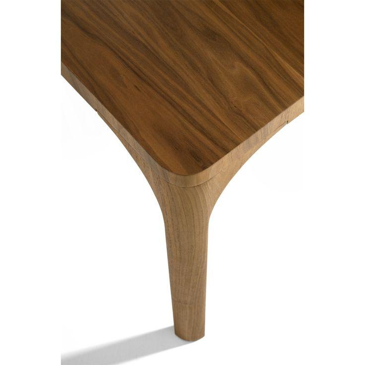 Walnut Table Leg View