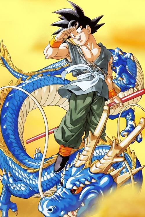 Goku y Shenlong