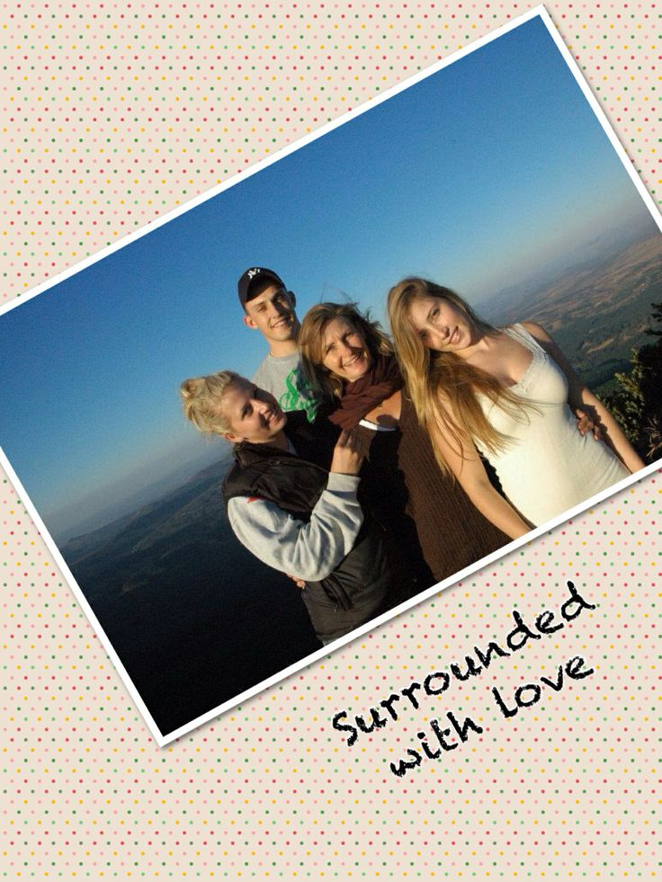 3 of my 4 magnificent children... I love you all with ALL my heart & soul!