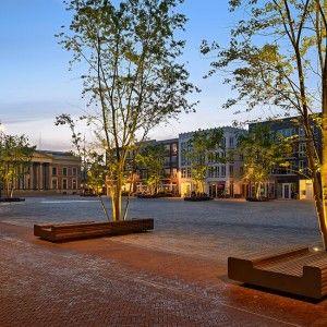 © Pieter Kers. Falco zitelementen gemeente Leeuwarden.