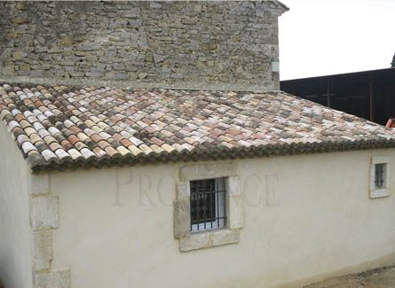 French roof tiles