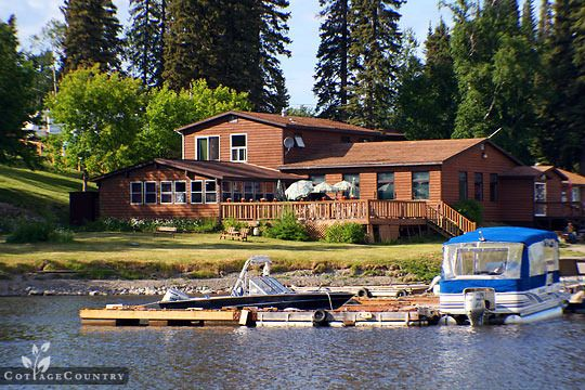 Cottage Resort in Thompson, Manitoba - Paint Lake Marina