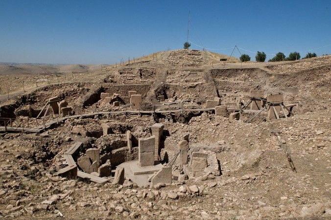 Gobekli Tepe, thought to be the oldest place of worship and a massive series of stone megaliths spanning more than 20 acres and predating Stonehenge by some 6,000 years, making it about 12,000 years old. 5 Mysterious Ruins That Predate Known Civilization? - The Epoch Times