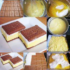 Butterkekskuchen ganz ohne Backen ;)  Rezepte und Kochideen: www.meinekochidee.de/die-besten-kochideen-der-welt?p=5742110866&s=adP01