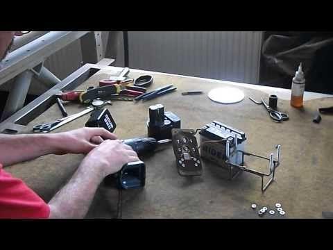 Hobbi fúrógép átalakítás - YouTube