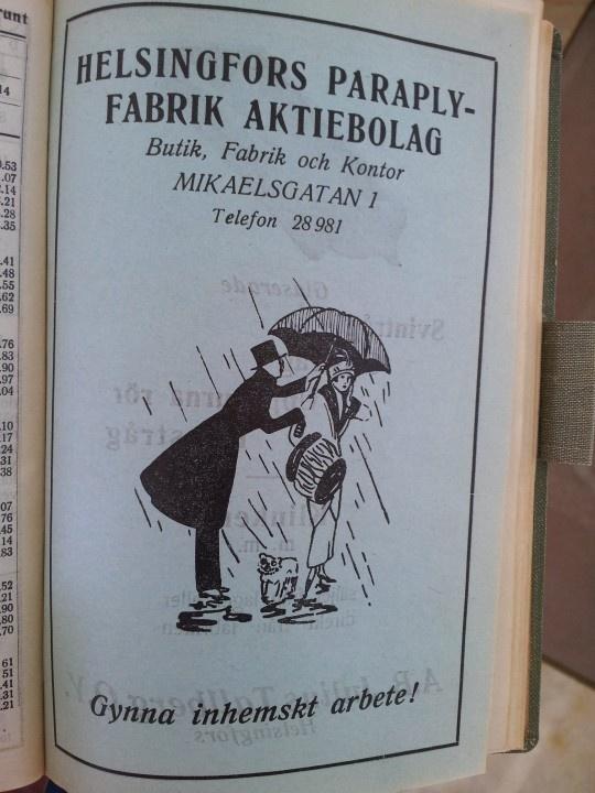 """""""Gynna inhemskt"""". Redan på 1920-talet. Dagens trend är alltså inte särskilt modern."""