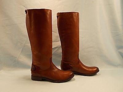 FRYE Melissa Back Zip Boots 8.5 womens horse riding boots fall outdoor wear LOOK