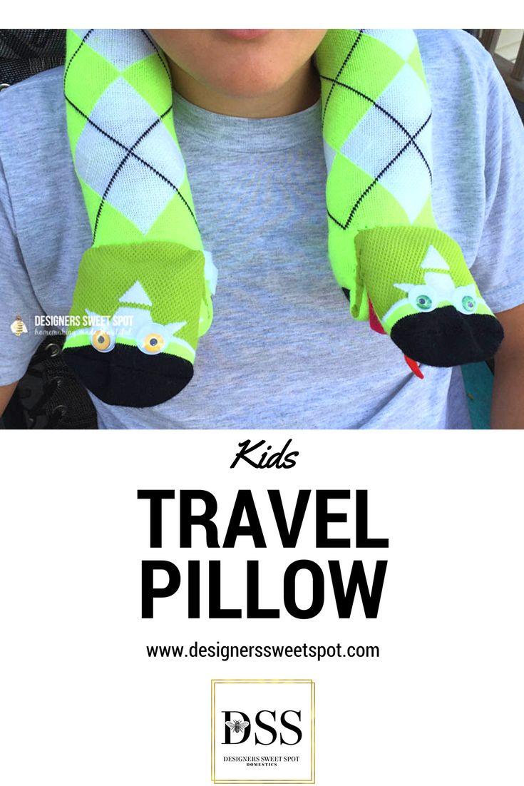 Kids travel pillow designers sweet spot www designerssweetspot com