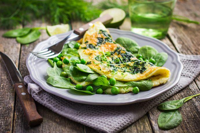 Easy veggie Omelet