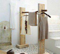 Kleiderständer selber bauen - 25 DIY Garderobenständer