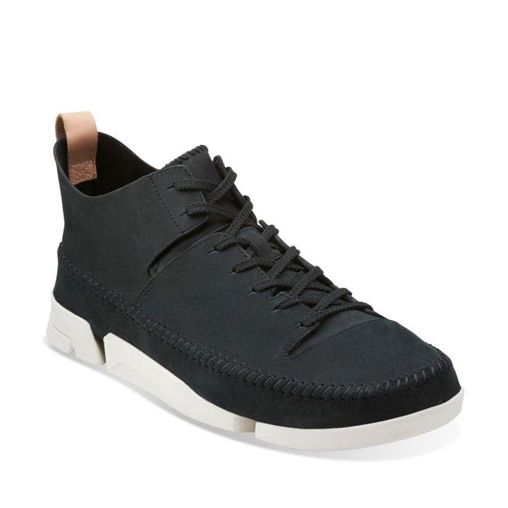 Trigenic Flex Black Nubuck - Men's Oxford Shoes - Clarks® Shoes - Clarks