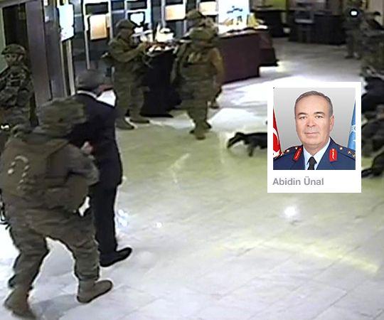 #15Temmuz Saat: 23:30 (Cuma)  Moda Deniz Kulübü'nde Hava Kuvvetleri Komutanı Orgeneral Mehmet Şanver'in kızının düğününde darbe girişiminden haberdar olan Hava Kuvvetleri Komutanı Orgeneral Abidin Ünal, saat 23.00'te düğün için salonda bulunan 17 generalin katılımı ile toplantı yapmaya başladı. Toplantıda darbe girişimine karşı önlemler alındı. Toplantıda bulunan Generaller kendi üsleri ile iletişime geçti.