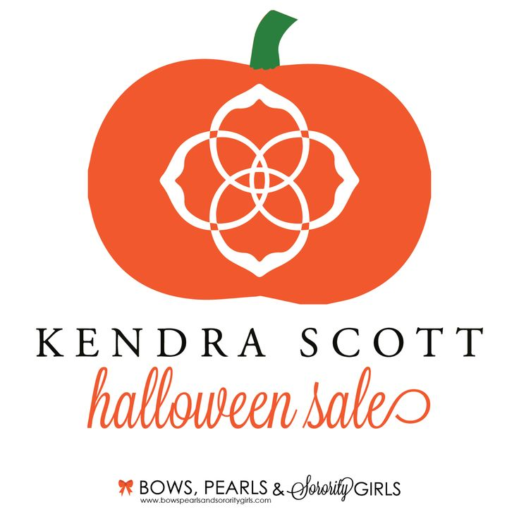EEEK! Kendra Scott is having a scavenger hunt Halloween sale, and it's frightfully good. Head over to the blog to get all the coupon codes including one for 50% OFF sale!!!  www.bowspearlsandsororitygirls.com