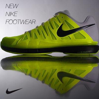 The Nike Vapor 9 Tour men's tennis shoe.
