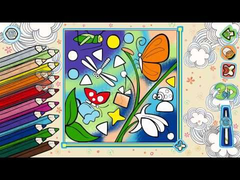 LiveBook3d - Our coloring book application will make your pictures live! - YouTube