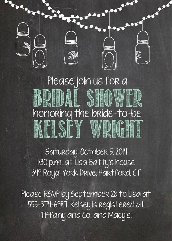 Wow i just adore this printable country chic chalkboard mason jar wow i just adore this printable country chic chalkboard mason jar bridal shower invitation i found on etsy perfect for a country chic bridal show filmwisefo