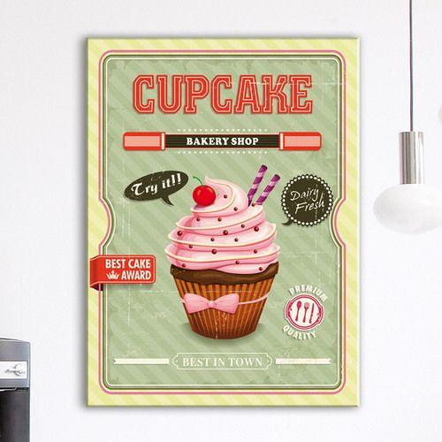 poster cuisine retro