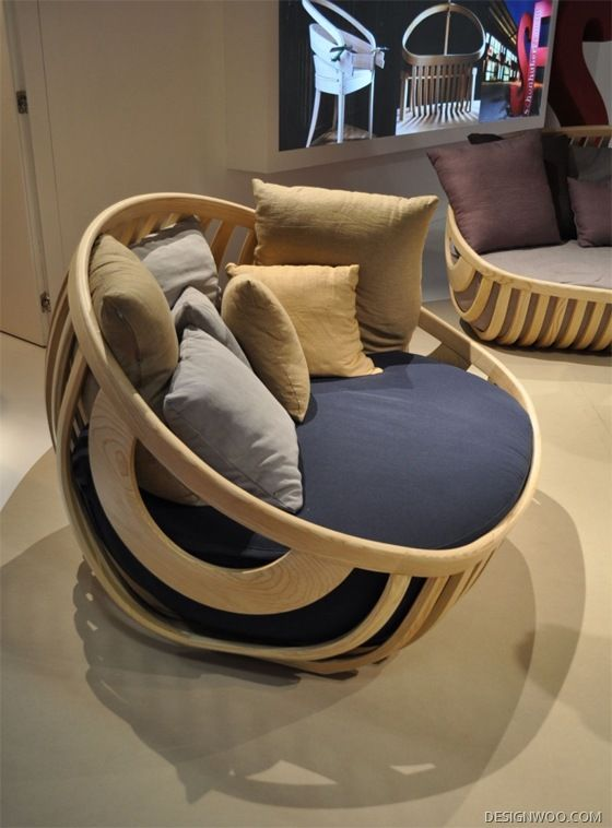 The Wood of Collection Chair Design by Luca Trazzi