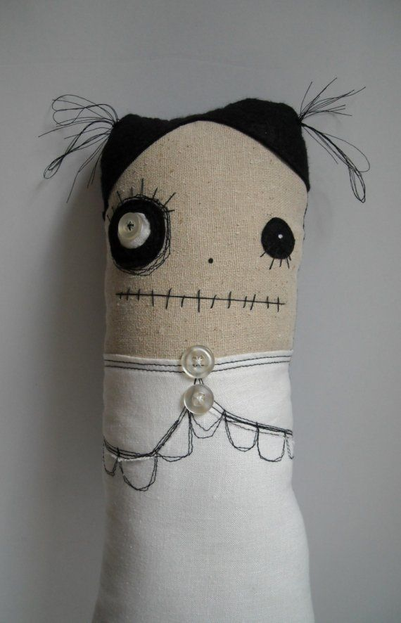 Monster Magda by JunkerJane on Etsy