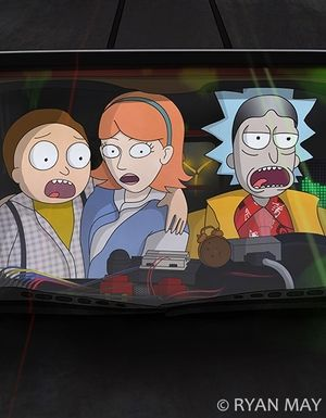 Rick And Morty / Back to the Future: We Don't Need Roads