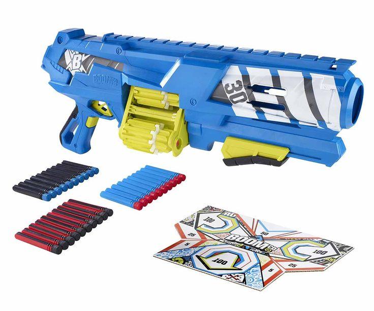 Pistola de juguete BoomCo Spinsanity 3X, la pistola con la que tu hijo se entretendrá horas y horas, tardes de risas y audacia, comparte con tu familia creando batallas.