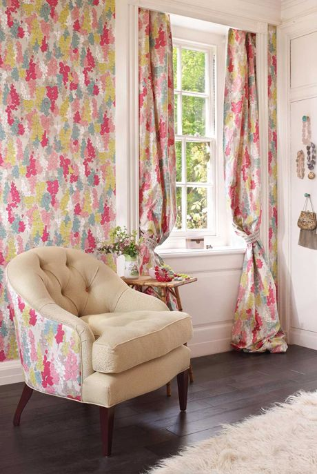 Floral Inspired Wallpapers From Nina Campbellu0027s New Woodsford Autumn 2012  Collection