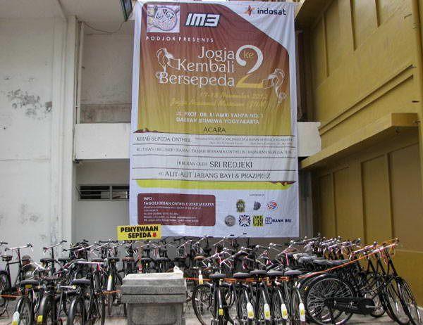 C59 dan komunitas onthelist sukses menggelar acara 'Onthel Goes To Yogya' pada tanggal 16-17 November 2012. Acara yang diselenggarakan tahun ini bertema 'Yogya kembali bersepeda'.