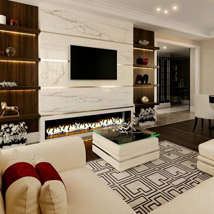 10 Most Popular Tv Unit Designs In The Living Room