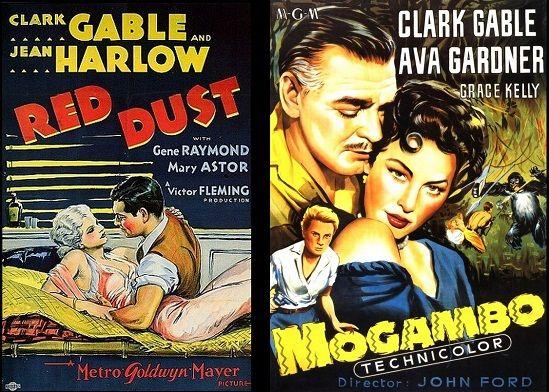 Tierra de Pasión (1932) Mogambo (1953)
