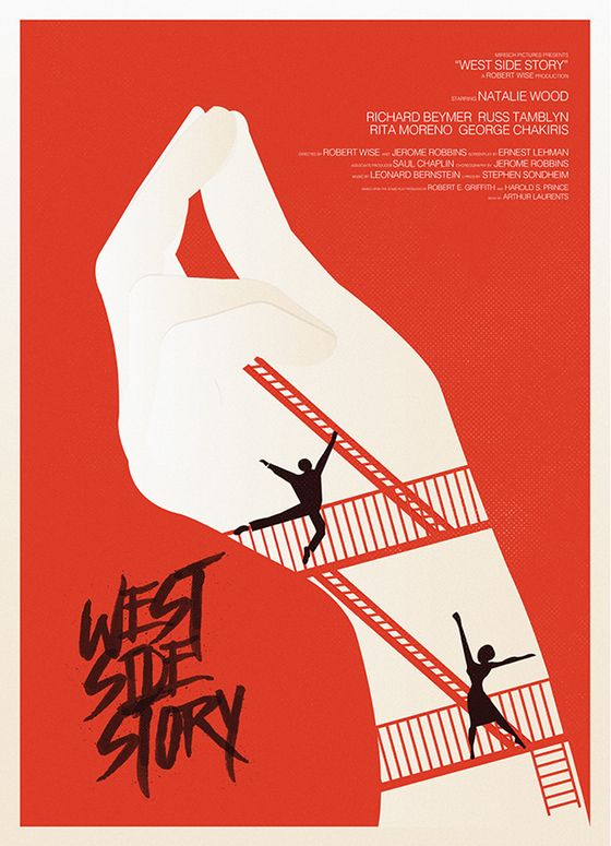 Musicals | Alternative Posters | West Side Story #DelilahJames