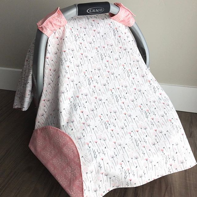 Blush wildflower car seat canopy available in the shop! . . . #carseatcanopy #carseatcover #carseatblanket #bohobaby #bohonewborn #babyboutique #etsybaby #etsybabyshop #etsybabyshower #babyshower #babygirl #babygirlgifts #babyshowergifts #etsyseller #etsymom #etsyshop #wildflowers #blushbaby #wildflowernursery #floralnursery #girlnursery #newbornstuff #trendybaby #instababy #evedeso #eventdesignsource - posted by Handmade Baby Items https://www.instagram.com/barefacednotions. See more Baby…