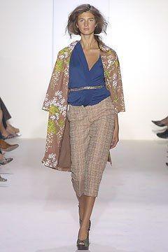 Marni Spring 2005 Ready-to-Wear Fashion Show - Kamila Szczawinska