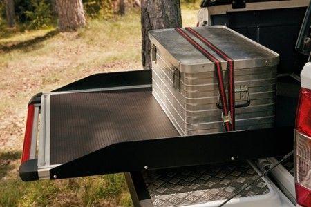 Nissan NP300 Navara (D23M) Sliding Load Bed Tray - DC - KE8554K400