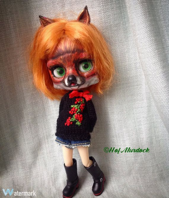 Middie Fox Girl ADOPTED