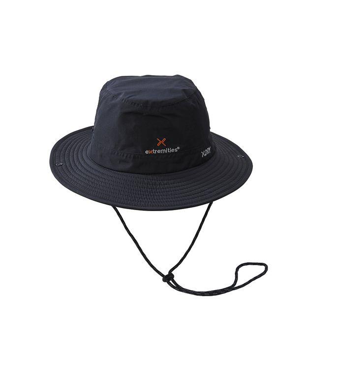 Sombrero impermeable, resistente al viento y transpirable de ala ancha de #Extremities para protegerse de las lluvias durante todo el año. Diseñado para el clima húmedo, pero igualmente útil para proteger del sol: http://www.daantienda.es/producto/gorro-torsa-hat-2543
