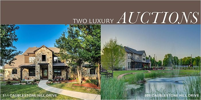 2 Separate Luxury Estate Auctions In The Dallas