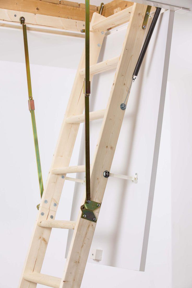 Schody strychowe możecie pomalować tak by wpasowały się w waszą wymarzoną aranżacje! Tutaj sprawdzicie jak!