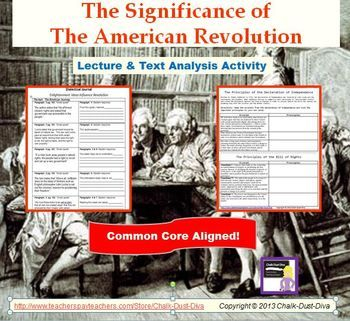 an analysis of the american revolution Printable version overview of the american revolution digital history id 2910 much more than a revolt against british taxes and trade regulations, the american.