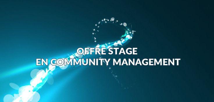 #Urgent => offre de  stage: Stagiaire en Community Management | CVLOGY